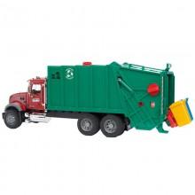 Camion Mack Granite camion poubelle avec chargement arriere 1:16