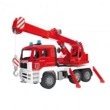 Camion MAN TGA camion grue de pompier avec module Son et Lumiere 1:16