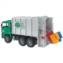 Camion MAN TGA camion poubelle avec chargement arriere 1:16