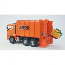 Camion MAN camion benne a ordures menageres 1:16