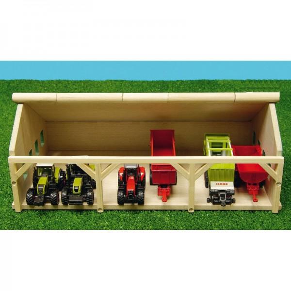 fermes hangar en bois 16 7x30x11 9 cm 1 87 ets angelard. Black Bedroom Furniture Sets. Home Design Ideas