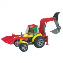 Roadmax Roadmax tracteur avec chargeur et godet de chargement arriere 1:16