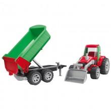 Roadmax Roadmax tracteur avec chargeur  et benne basculante 1:16