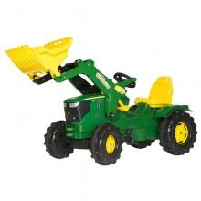 Tracteur RollyFarmtrac John Deere 6210R, RollyTrac chargeur
