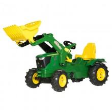 Tracteur RollyFarmtrac John Deere 6210R, RollyTrac chargeur, pneu souples