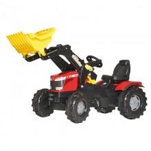 Tracteur RollyFarmtrac MF 8650, RollyTrac chargeur