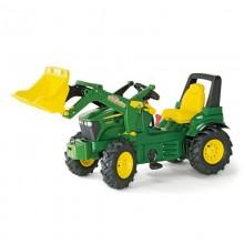 Tracteur John Deere 7930 +pneus souples, 2 vitesses, chargeur