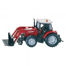 Tracteur Massey Ferguson avec chargeur 1:32