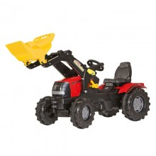 Tracteur avec accessoire Case Puma CVX 225 avec chargeur