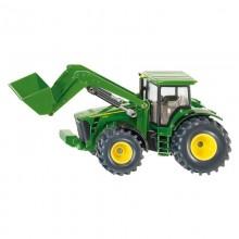 Tracteur avec accessoire John Deere avec chargeur frontal 1:50