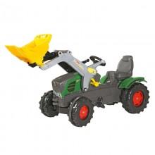 Tracteur avec accessoire Fendt  Vario + rollyTrac chargeur