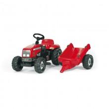 Tracteur avec accessoire RollyKid Massey Ferguson+remorque (2ans et demi+)
