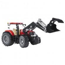 Tracteur avec accessoire Case CVX 230 avec chargeur 1:16