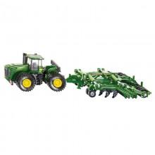 Jouet Tracteur avec accessoire John Deere 9630 avec Amazone Centour 1:87