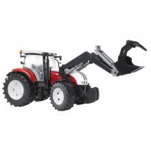 Jouet Tracteur avec accessoire Steyr CVT 6230 avec chargeur 1:16