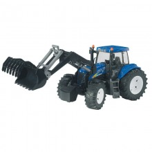 Jouet Tracteur avec accessoire New Holland T8040 avec chargeur