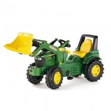 Jouet Tracteur avec accessoire John Deere 7930 + rollyTrac chargeur