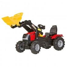 Jouet Tracteur avec accessoire Case Puma CVX 225 avec chargeur et pneus souples