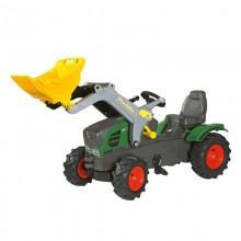 Jouet Tracteur avec accessoire Fendt 211 Vario avec chargeur et pneus souples