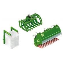 Accessoires pour chargeur frontal en vert JD