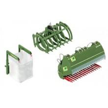 Accessoires pour chargeur frontal en vert Bressel und Lade
