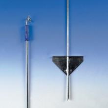 Gallagher, Piquet de fer 1,10 m avec isolateur superieur  x 10