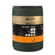 Gallagher Ruban TurboLine 40mm 200m Super vert