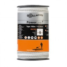 Gallagher Ruban PowerLine 12,5mm 100m