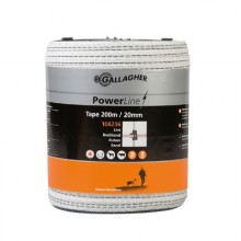 Gallagher Ruban PowerLine 20mm 200m