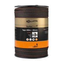 Gallagher Duopack Ruban TurboStar 40mm 2x200m, marron -/- 25%