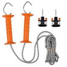 Kit porte a cordon elastique 2 poignees