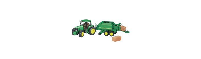 Tracteurs avec accessoires